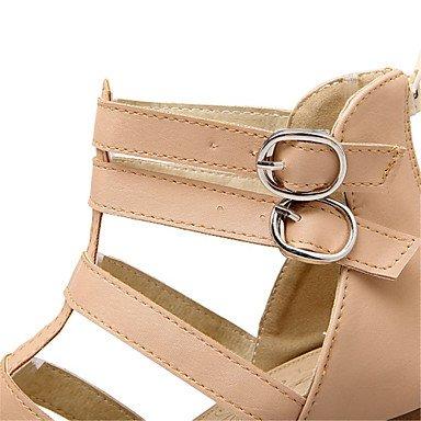 LvYuan Da donna-Sandali-Matrimonio Ufficio e lavoro Formale Casual Serata e festa-Comoda Club Shoes-Quadrato-Materiali personalizzati Finta pelle Pink