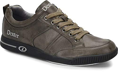 Dexter Dave - Grau Bowling-Schuhe Damen und Herren, für Rechts- und Linkshänder, in den Größen 39,5 bis 46 Größe 42 -