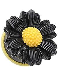 Covet Jewelry - Dilatador de Oreja Acampanado, diseño de Margaritas