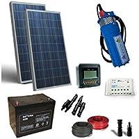 PuntoEnergia Italia - Kit Solar Fotovoltaico Bombeo de Agua 200W 12V - 160 L/h