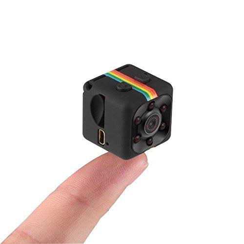 iMounTop Mini Kamera 1080P HD Camcorder DV-Recorder 12 Million Pixel Überwachungskamera mit Bewegungs Abfragung und InfrarotNachtsicht für Haupt Sicherheit / Büro / Garten / Garage / Fahrtenschreiber (Hinweis : Bedienungsanleitung nur Englisch,Sd-Karte nicht enthalten, müssen Sie eine SD-Karte vor der Verwendung dieser Kamera einfügen)
