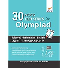 30 Mock Test Series for Olympiads Class 7 Science, Mathematics, English, Logical Reasoning, GK & Cyber