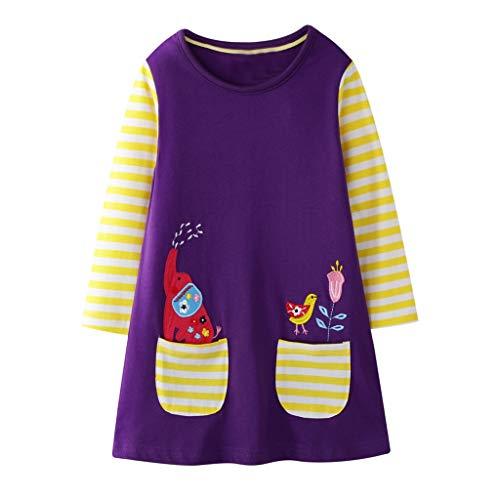 Robes Pyjama Enfant Fille Plongeur Floral Broderie Lolita Mignon Coton Deguisement Princesse Fille Souple Cadeau Noël Pas Cher 2-7 Ans