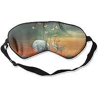 Sleep Eye Mask Whale Flying Artwork Lightweight Soft Blindfold Adjustable Head Strap Eyeshade Travel Eyepatch E2 preisvergleich bei billige-tabletten.eu
