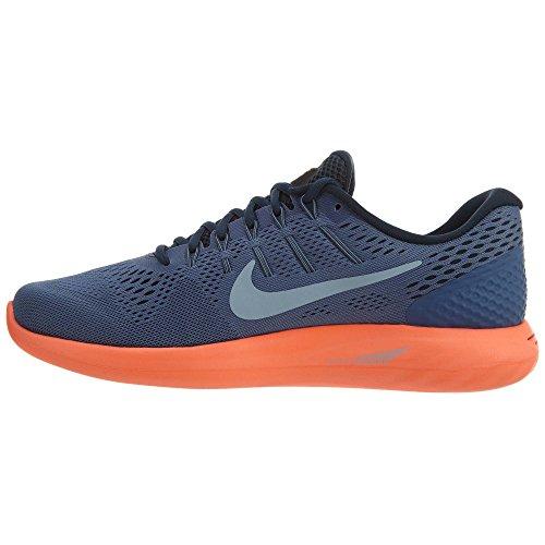 Nike Herren Lunarglide 8 Laufschuhe Mehrfarbig (Blue Moon/Light Armory Blue-Hyper Orange)