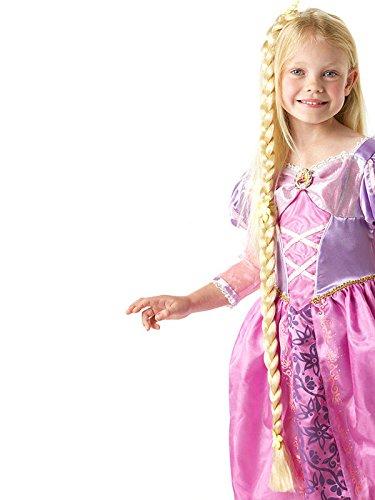 Rapunzel Disney Zopf Haarteil für Kinder Lizenzware blond 92