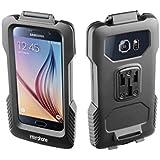 Cellular Line Soporte de bicicleta para Samsung Galaxy S7, S6y S6Edge, resistente al agua, formato horizontal y vertical