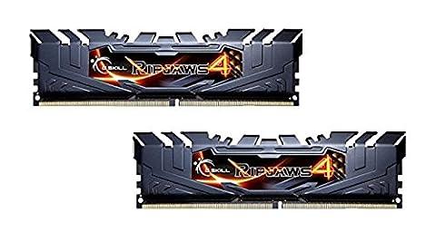 G.Skill Ripjaws 4 16Go DDR4 3000MHz module de mémoire - modules de mémoire (16 Go, DDR4, 3000 MHz, PC/serveur, 2 x 8 Go, 1.35 V)