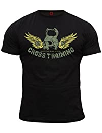 Dirty Ray Bodybuilding Cross Training t-shirt homme DT17