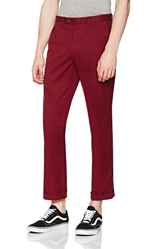 find-cotton-chino-regular-pantalon-homme-rouge-drk-red-xxxx-large-taille-fabricant-44