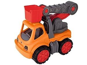 BIG Power-Worker Service Crane vehículo de Juguete - Vehículos de Juguete (Naranja, Rojo, 2 año(s), 5 año(s), Niño, TÜV, 200 mm)