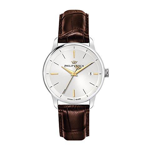 Philip Watch Orologio da uomo, Collezione Anniversary, movimento al quarzo,...