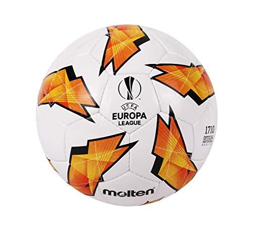 Molten Réplique du UEFA Europa League–1710Modèle Ballon de Match Officiel Size 5 Orange