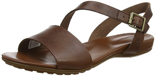 Timberland Cranberry Lake, Sandalias para Mujer, Marrón MD Brown Full Grain, 39 EU