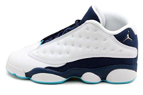 nike-air-jordan-13-retro-low-bg-chaussures-de-sport-garcon-multicolore-blanco-plateado-azul-white-mt