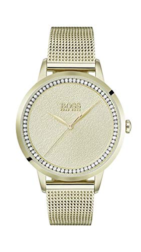 Hugo Boss Womens Analogue Classic Quartz Watch with Stainless Steel Strap 1502465
