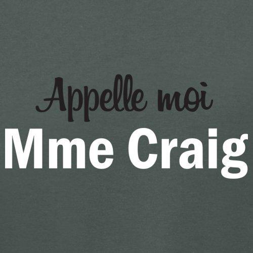Apelle Moi Madame Craig - Femme T-Shirt - 14 couleur Gris Foncé