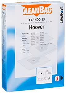 Scan Part 137 HOO 13 Cleanbag Sac aspirateur Hoover Telios (Import Allemagne)