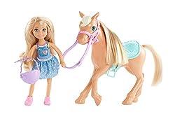 Barbie Dyl42 Club Chelsea Dolls & Horse Doll