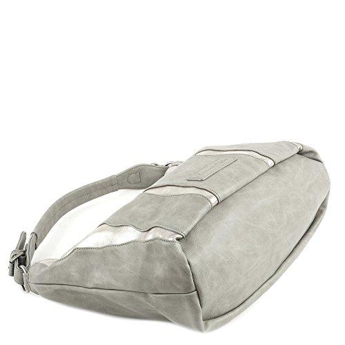 Fritzi aus Preußen Salome SheenN Schultertasche 42 cm Grey