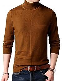 JIAKENVDE Herren Pullover Rollkragen Pullover Kleidung Winter Weihnachten  Mnes Dicke Warme Pull Homme 190 e2f887bf26