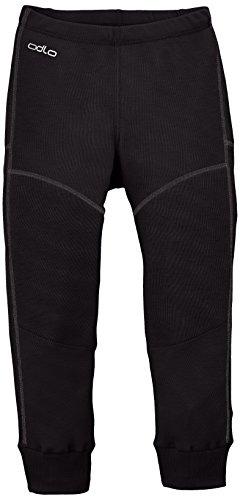 Odlo Kinder Jungen Pants X-Warm Unterhose, black, 128