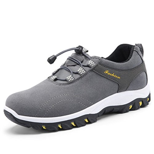 Men's Warm Waterproof Outdoor Walking Shoes Grey