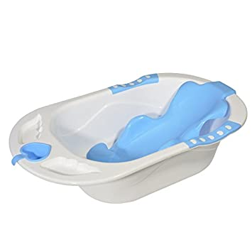 Buy Baby Bucket A+B Bath Tub, Bath Sling With Bathing Mug Oval ...