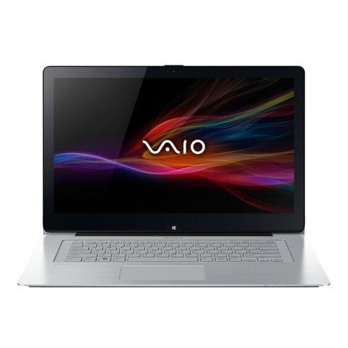 Sony SVF13N2J2ES.G4 VAIO SVF13N2J2ES 33,8 cm (13,3 Zoll Touch) Convertible Ultrabook (Intel Core i3-4005U, 1,7GHz, 4GB RAM, 128GB SSD, Intel HD 4400, inkl. Stift VGPSTD2, Win 8.1) silber/metallic
