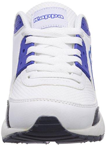 Kappa HARLEM unisex Unisex-Erwachsene Sneakers Weiß (1060 white/blue)
