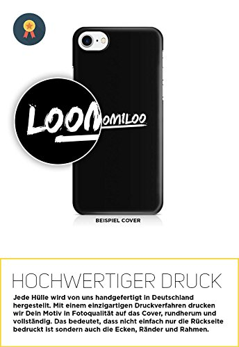COVER Spruch NEVERLAND Handy Hülle Case 3D-Druck Top-Qualität kratzfest Apple iPhone 8
