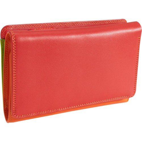 Mywalit 15cm Cuir Qualité Trois Plis Porte-monnaie Coffret Cadeau 363 Jamaica