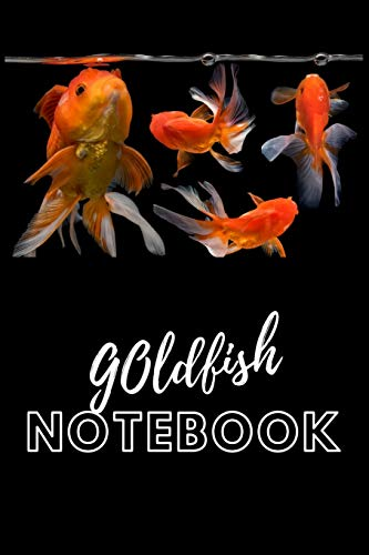 Goldfish Notebook: Blank Lined Book For Fish Tank Maintenance. Great For Monitoring Water Parameters, Water Change Schedule, And Breeding Conditions. -