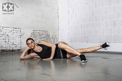 sportboXX Poster DIN A1 mit Übungen ohne Geräte, Bauchtrainer, Workout für zuhause - 4