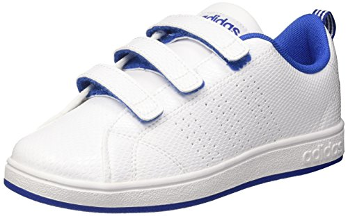 adidas Vs ADV CL CMF C, Zapatillas Unisex Niños, Blanco (FTWR White/Collegiate Royal), 34 EU