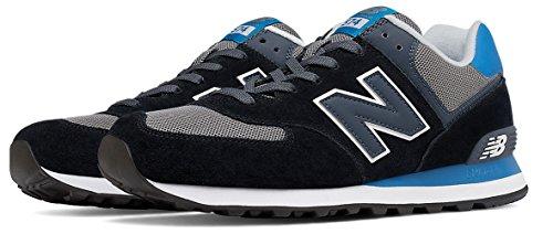 New Balance 574, Chaussures de Running Entrainement Homme Noir
