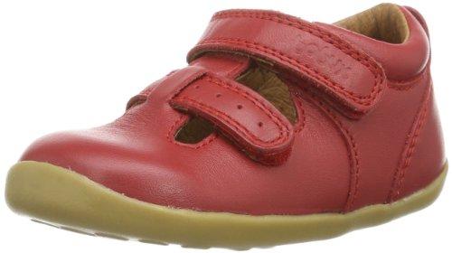 Bobux 460690, chaussures premiers pas mixte enfant Rouge - Rot (red 4)