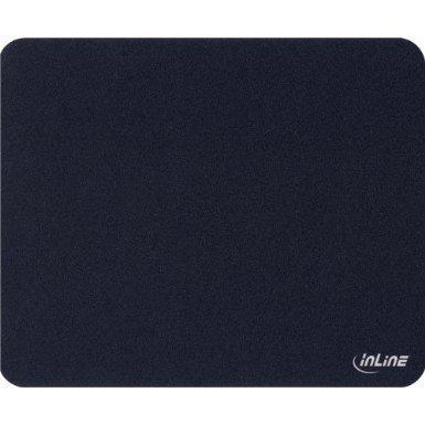 7 Stück InLine ® Maus-Pad antimikrobiell, ultradünn, schwarz, 220x180x0,4 mm Antimikrobiellen Oberfläche