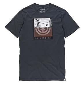 Men'Element Herren T-Shirt Avenue Short Sleeve F XX-Large  - Schwarz