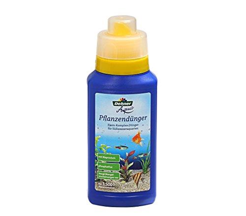 Dehner Aqua Aquarium-Pflanzendünger, 250 ml, für ca. 1.500 l -