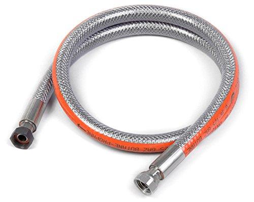 Home Gaz Flexible inox butane/propane 1,5 m sans date de péremption