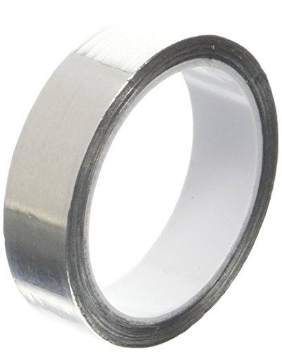 tapecase 1/2–5-4254250,5in X 4,6m, glänzend silber Aluminium-Klebeband