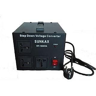 SUNKAX 1600VA / 1280W 240-220V zu 120-110Vac Abwärtswandler / Transformator (ST-1600VA)