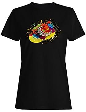 Ramadan, regalo, fondo, arte, novedad camiseta de las mujeres d720f