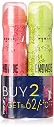 Engage Deo for Women Trail and Blush 165ml (Pack of 2)