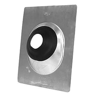Oatey 12956 Aluminum All-Flash Base Flashing, 3-Inch - 4-Inch by Oatey
