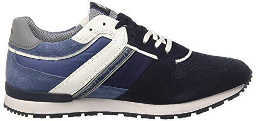 Cestini blu Scuro Blu Sneaker Harmont Homme Blaine qvHzFw