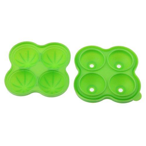 Powlance 4 Loch Eis Eisgitter DIY Silikon Kuchen Hockey Mold Bar Küche Werkzeug