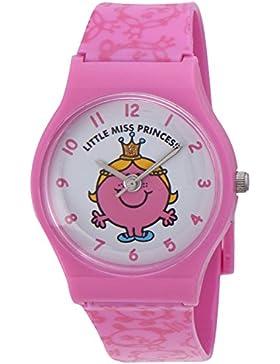 Mr Men and Little Miss Mädchen-Armbanduhr Analog Kunststoff Rosa ALM0001