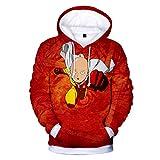 Cosstars One Punch Man Anime Kapuzenpullover Sweatshirt Cosplay Kostüm 3D Druck Pullover Hoodie Sweater Top Mantel 4 XXL